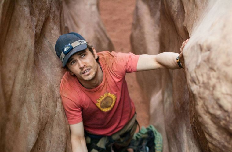 "James Franco spielt im Film ""127 Hours"" die Hauptrolle."