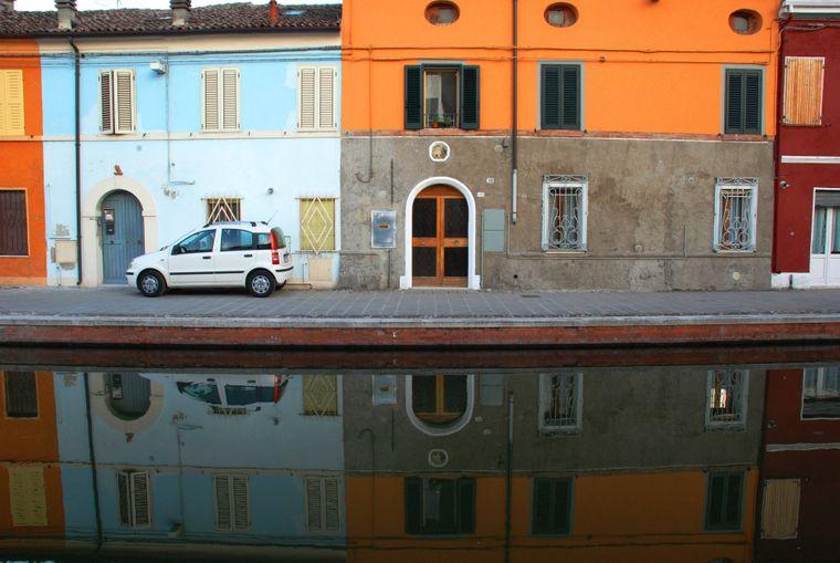 Auch in der Region Emilia-Romagna in Italien können Urlauber Venedig-Gefühle bekommen.