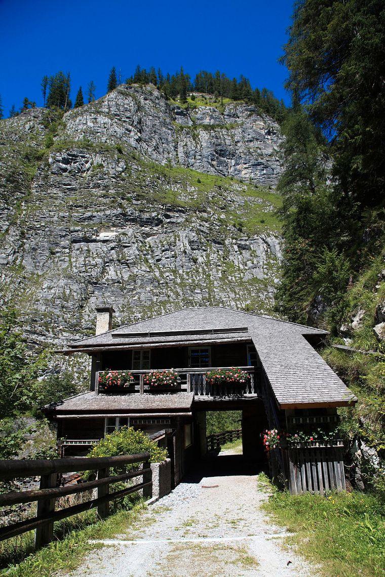 Durch die Alte Wacht führte einst die einzige Verbindungsstraße in das Großarltal im Salzburger Land.
