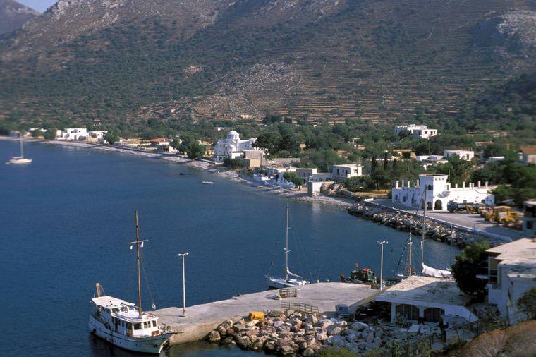 Die kleine Insel Tilos hat insgesamt nur eine Größe von 61 Quadratkilometern.