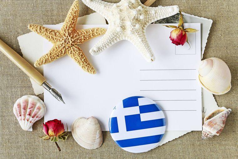 Sende doch sonnige Grüße an all deine Liebesten zuhause –  mit einer Postkarte.