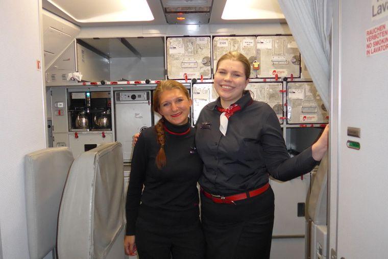 Stewardessen Air Berlin