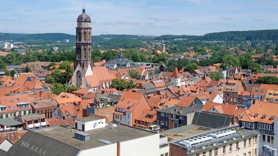 Der Kirchturm von St. Jacobi