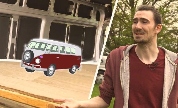 Reisereporter Marc baut seinen Ford Transit zum Campervan um.