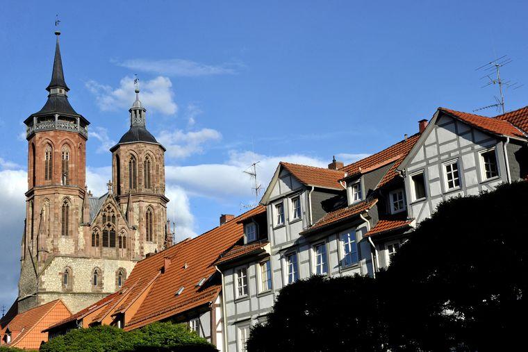St. Johannis von Westen aus gesehen.