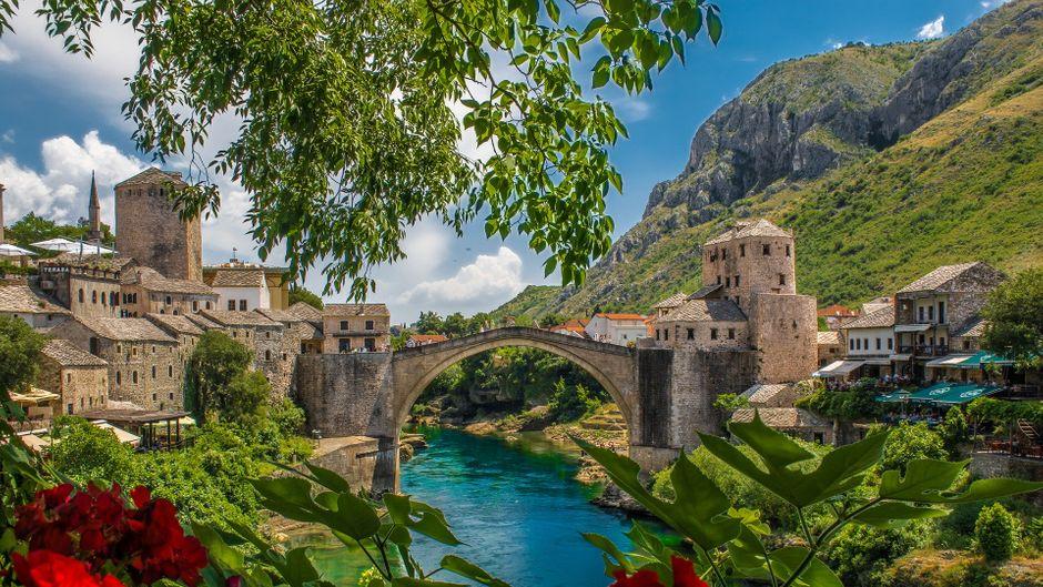 Mostar, Bosnien-Herzogowina.