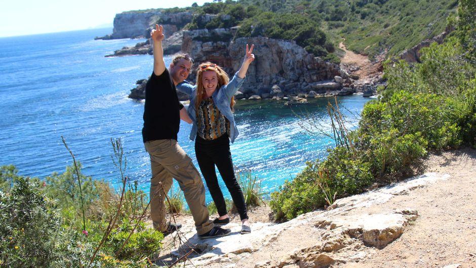 Caló des Moro – das Meer ist so Türkis, dass man ausrasten möchte.