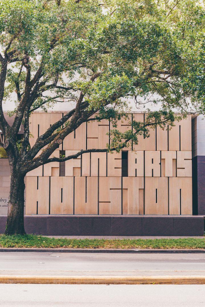 Das Museum of Fine Arts ist einer der Höhepunkte im Museumsviertel von Houston.