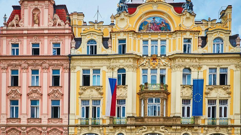 Die Unterkünfte in Prag belegen den zweiten Platz im Hygiene-Ranking.