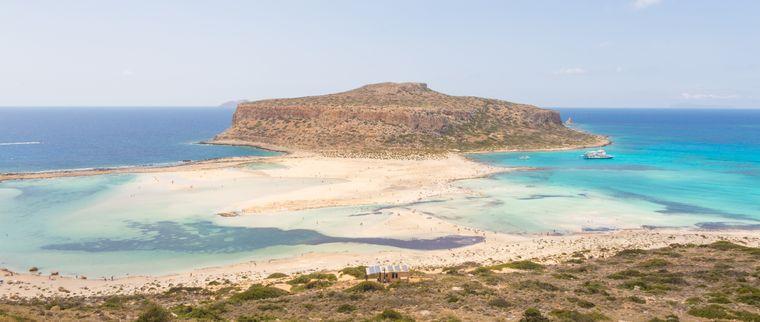 Balos Beach ist der wohl meistfotografierte Strand auf Kreta.