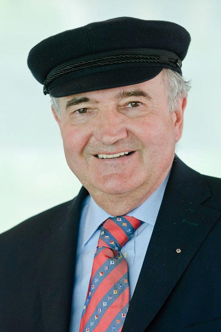 Anton Nauheimer ist Geschäftsführer der Frankfurter Personenschiffahrt.