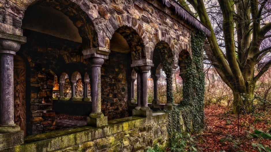 Ein verlassenes Kloster – ein faszinierender Lost Place.