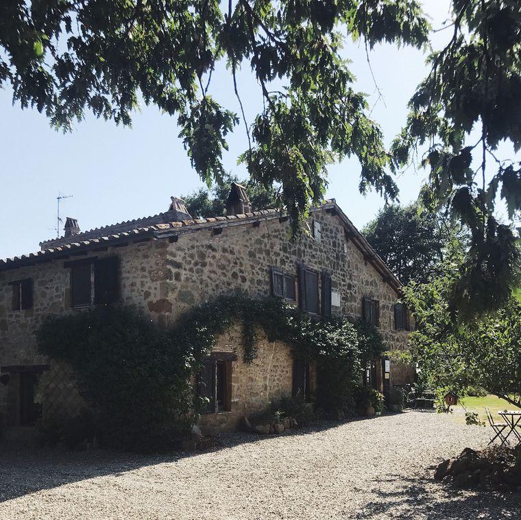 Haupthaus des Agriturismo biologico Sant'Egle, Toskana