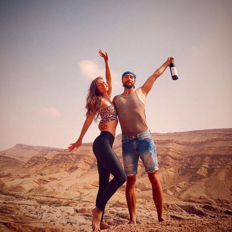Der Israel-Trip war die erste Auslandsreise der jungen Eheleute.
