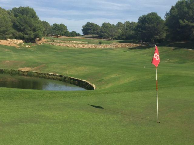 Golfanlage auf Ibiza