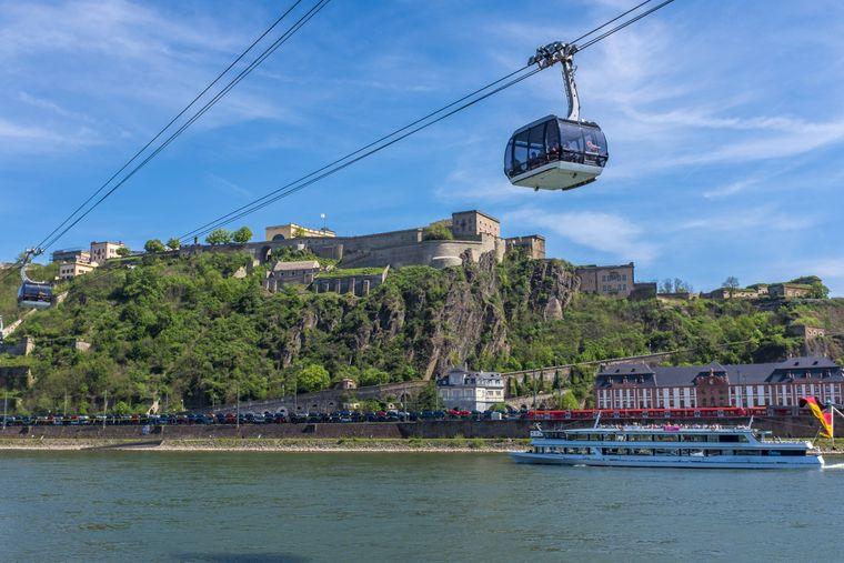 Die Seibahn Koblenz ist ein besonderes Erlebnis für die ganze Familie.
