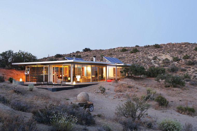 """Das """"itHouse"""" in der kalifornischen Wüste ist dank Solaranlagen komplett autark."""