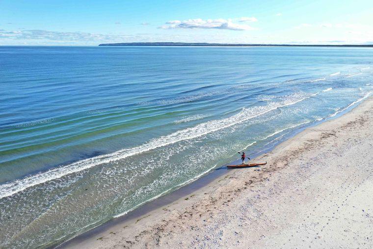 Der Strand Schaabe.