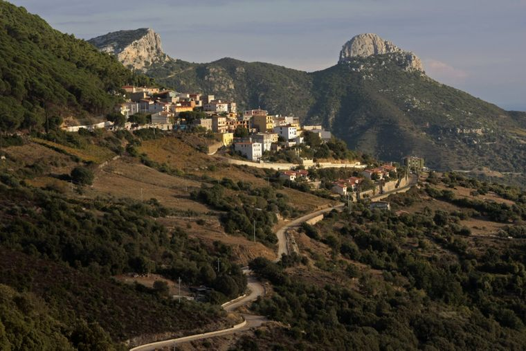 Baunei auf Sardinien.