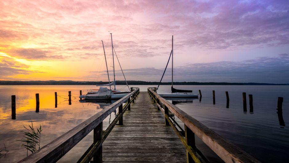 Der Ratzeburger See ist eines der schönsten Binnensegelreviere Deutschlands.