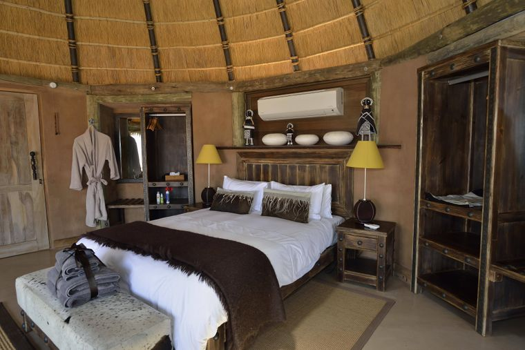 Luxuslodge in Namibia.