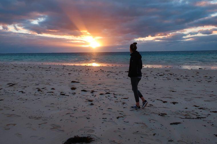 Coral Bay, ein kleiner Küstenort, ist nicht nur bei Touristen, sondern auch bei vielen Australiern für sein atemberaubendes Ningaloo Reef und seine wunderschöne Bucht beliebt.