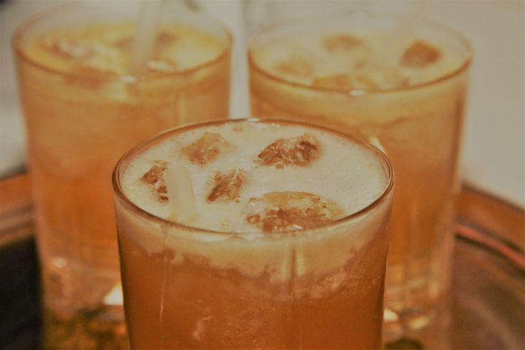 Der Barbados Rum Punch passt zu jedem Anlass – auch zu Silvester.