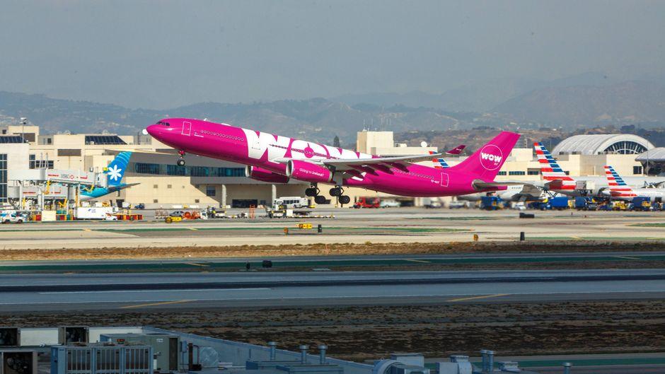 Wow Air reiht sich ein in die Pleitewelle von Fluggesellschaften. (Symbolfoto)