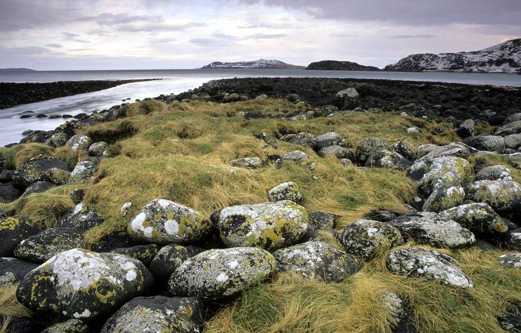 Blick auf Gruinard Island.