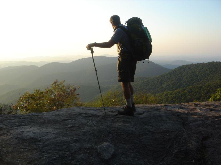 """Jedes Jahr kommen mehr als drei Millionen Besucher zum """"Appalachian Trail"""", um durch die atemberaubende Landschaft zu wandern."""