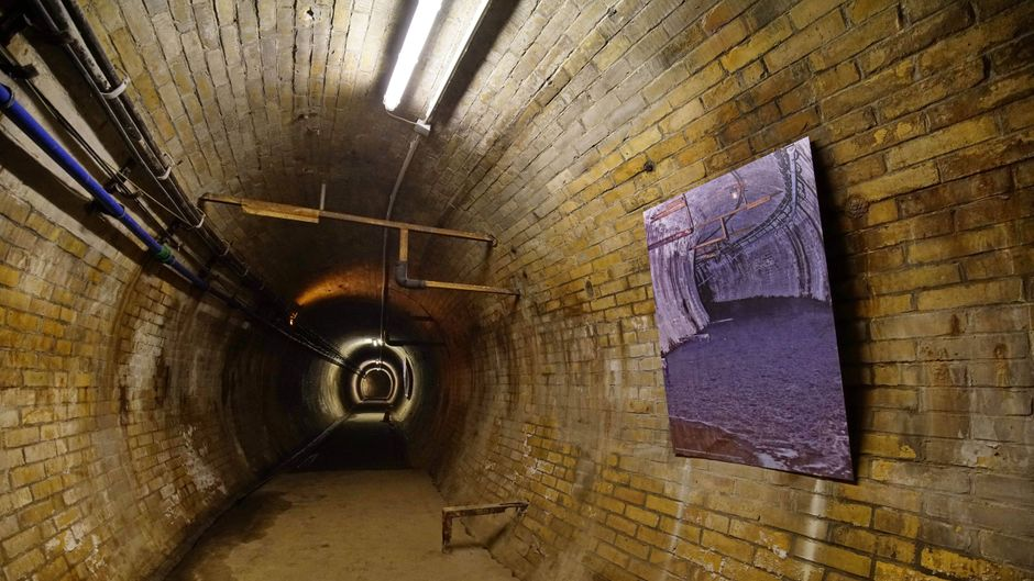 Der erste U-Bahntunnel