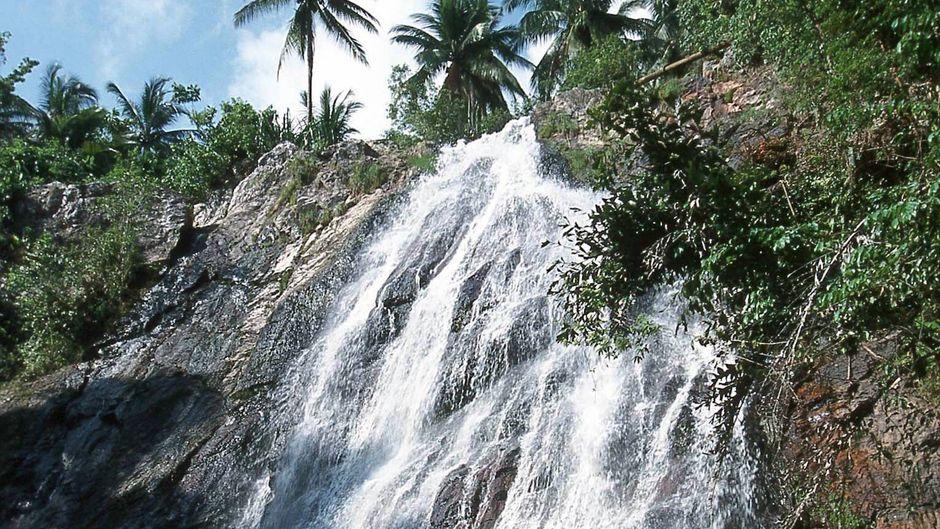Na-Muang-Wasserfall auf Koh Samui.
