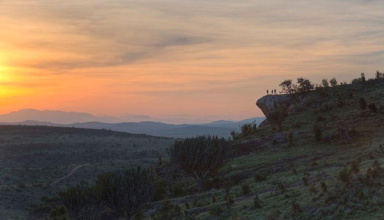 """Der Pride Rock in Kenia sieht dem Königsfelsen in """"König der Löwen"""" zum Verwechseln ähnlich."""