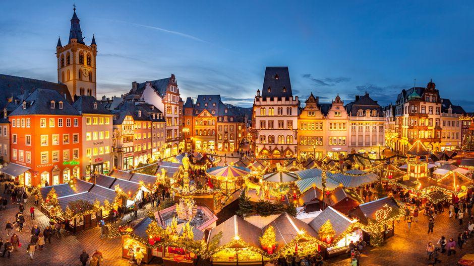 Der Weihnachtmarkt in Trier kommt bei den Besuchern ziemlich gut an – sie wählten ihn als einen der besten in Europa.