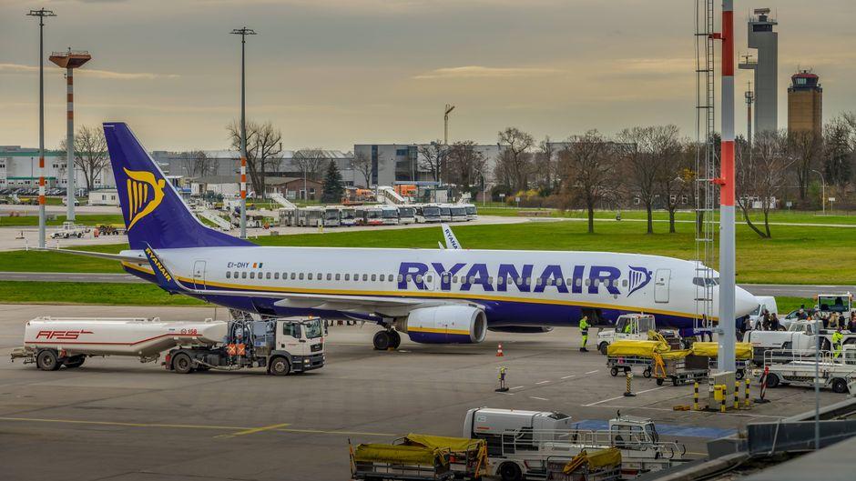 Ryanair-Flugzeuge bleiben am Boden. (Symbolbild)