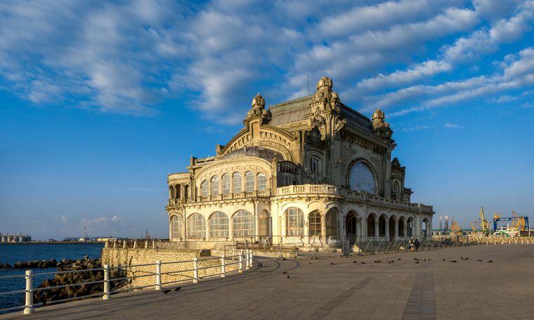 Das Alte Casino in der Hafenstadt Konstanza in Rumänien ist einen Besuch wert.