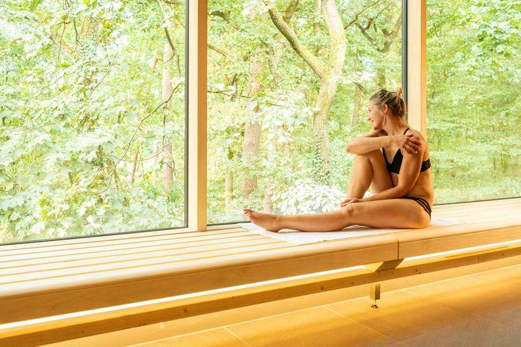 Tiefste Entspannung in der Waldgartensauna in Bad Lippspringe.