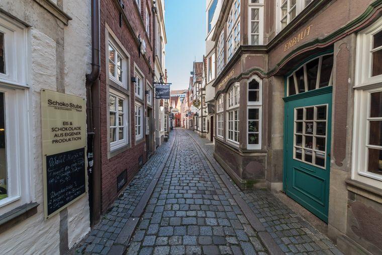 Im Bremer Schnoorviertel ist normalerweise viel los.