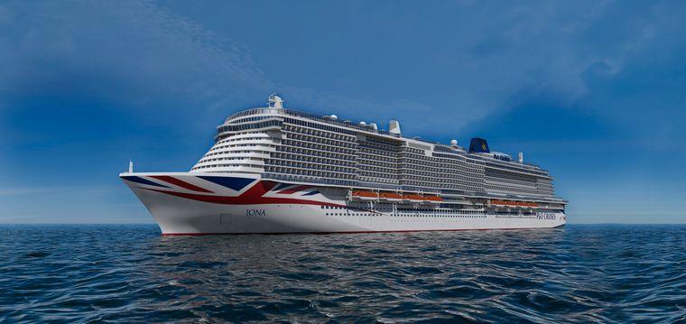 "P&O Cruises bringt 2020 die ""Iona"" aufs Meer."