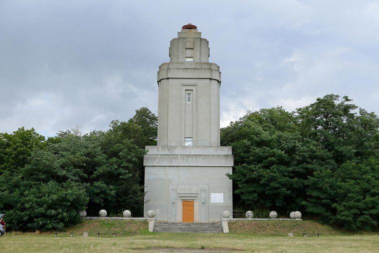 Der Bismarckturm liegt im Norden von Leipzig