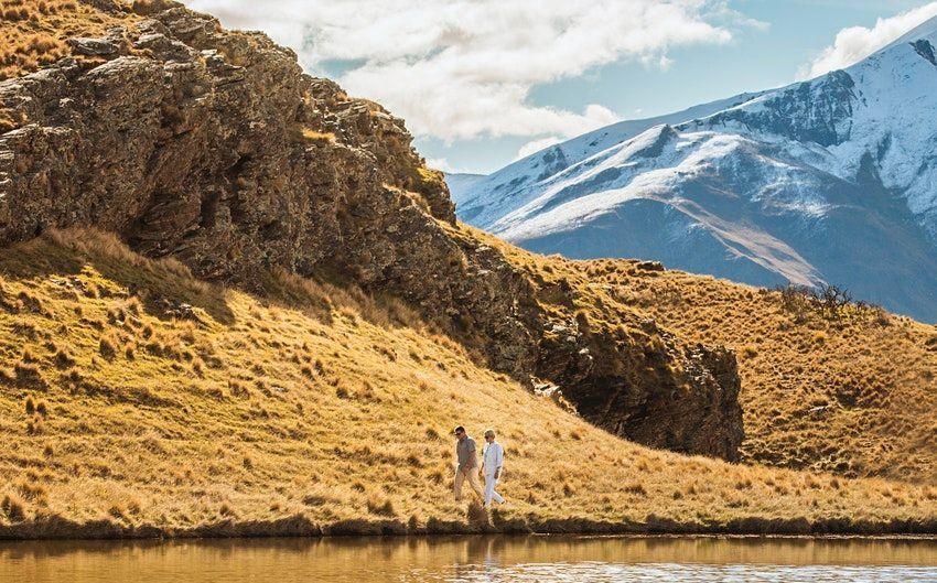 """Im Deer Park Heights in Neuseeland kannst du ab sofort sieben Drehorte des Films """"Herr der Ringe: Die drei Türme"""" besuchen."""