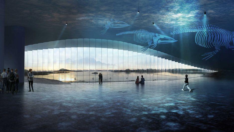 """Eine Visualisierung, wie der Ausblick von """"The Whale"""" aussehen könnte."""