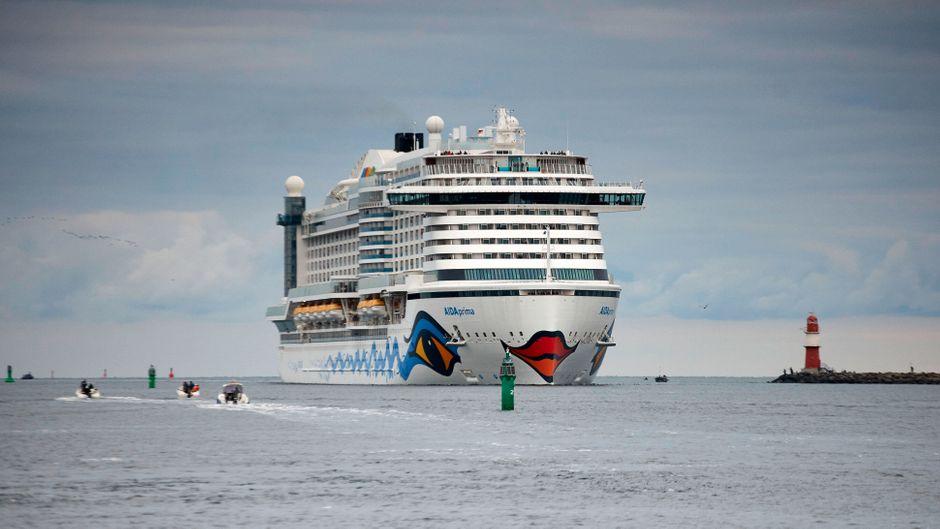 "Kreuzfahrtschiff ""Aida Prima"" von Aida Cruises."