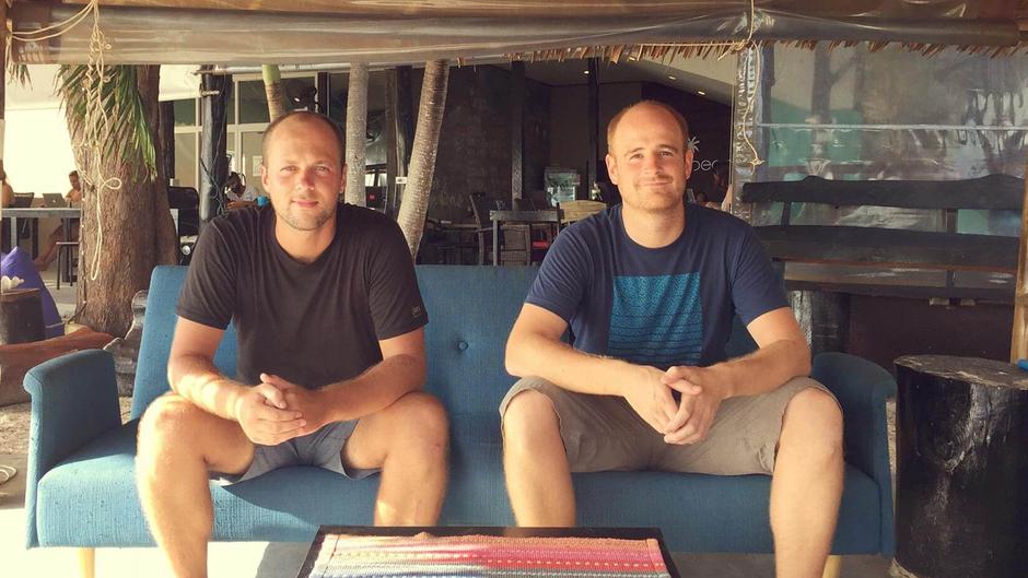 Das Gründerteam von blookery: Kevin Kiesewetter und Jannis Dorlöchter.