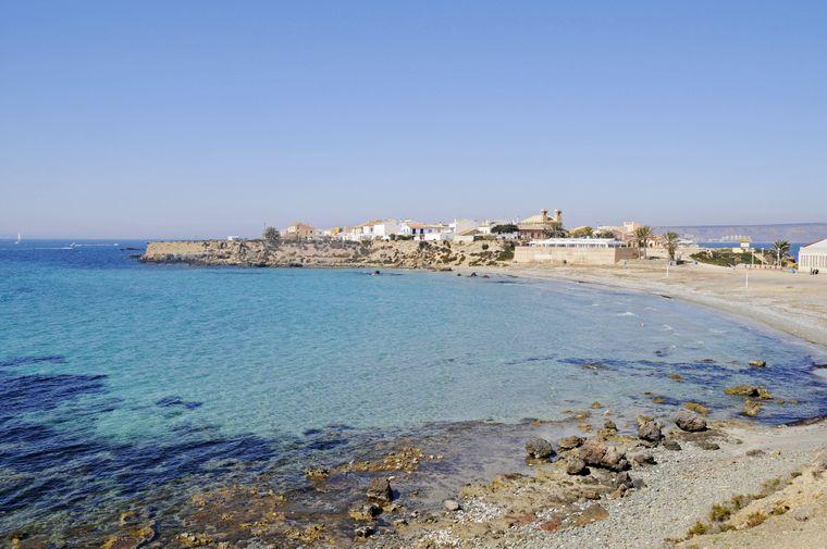 Südwestlich der Balearen liegt nicht nur das Festland, sondern auch das winzige Eiland Tabarca.
