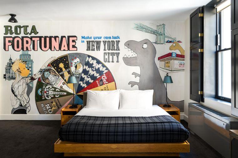 Das Ace Hotel in New York arbeitet mit renommierten Künstlern zusammen.