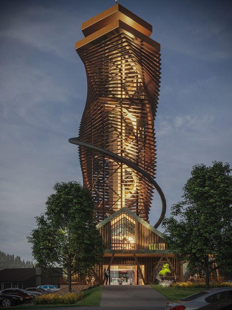 Der Harzturm auf Torfhaus