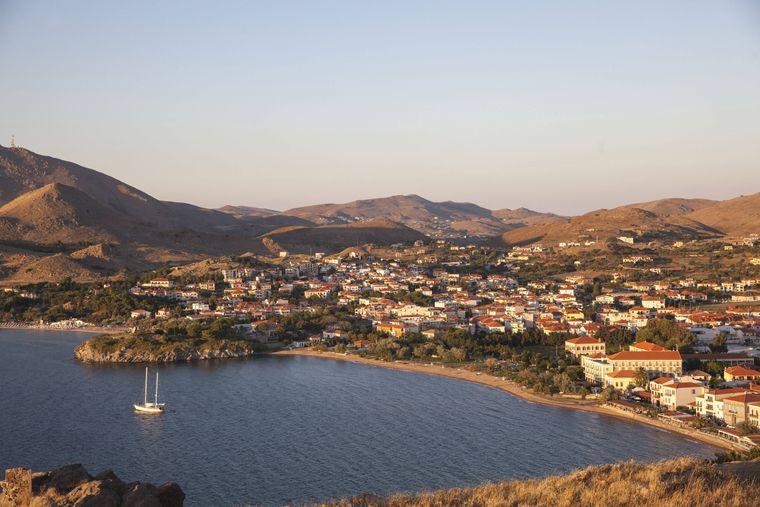 Limnos ist eine griechische Insel in der Nord-Ägäis.