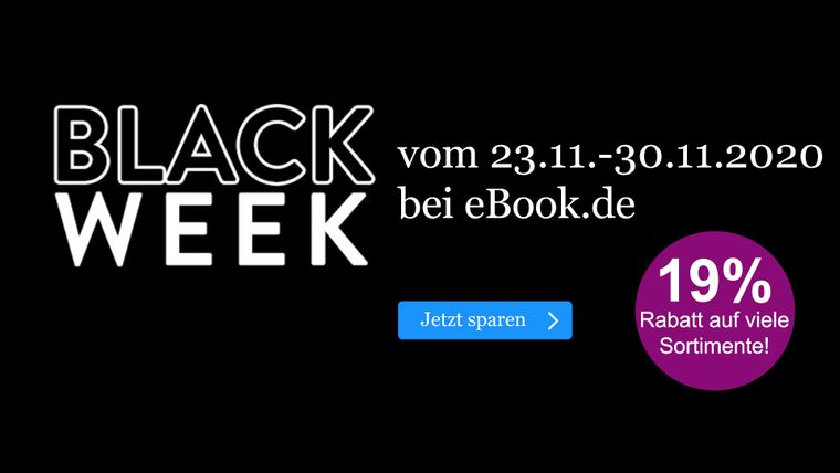 Black Friday bei ebook.de