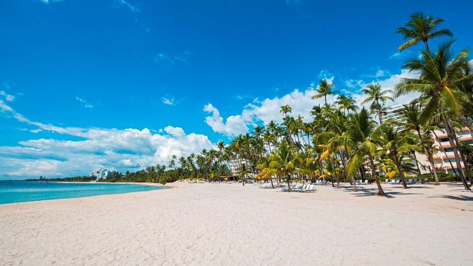Strand in der Dominikanischen Republik.